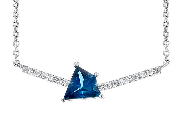 B209-07013: NECK .87 LONDON BLUE TOPAZ .95 TGW