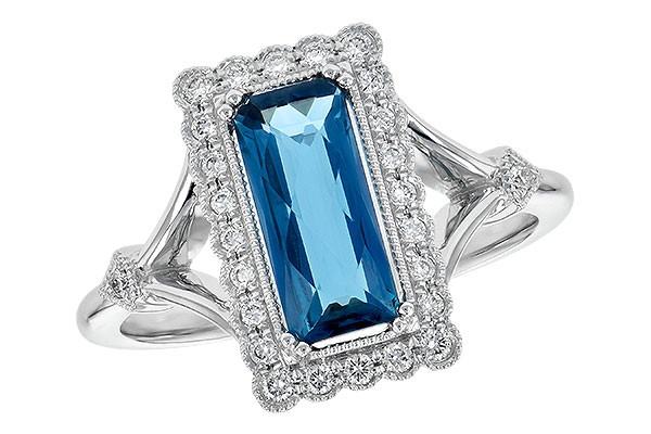 F209-06167: LDS RG 1.58 LONDON BLUE TOPAZ 1.75 TGW