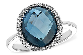 G208-11558: LDS RG 5.31 LONDON BLUE TOPAZ 5.45 TGW